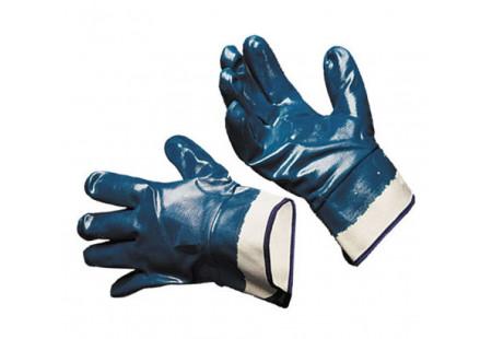 Перчатки нитриловые с полным покрытием (манжет - крага)